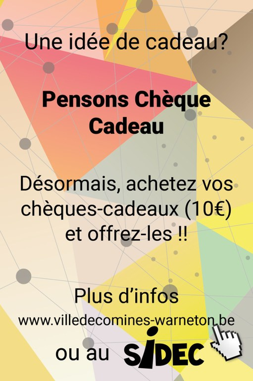 cheques commerces
