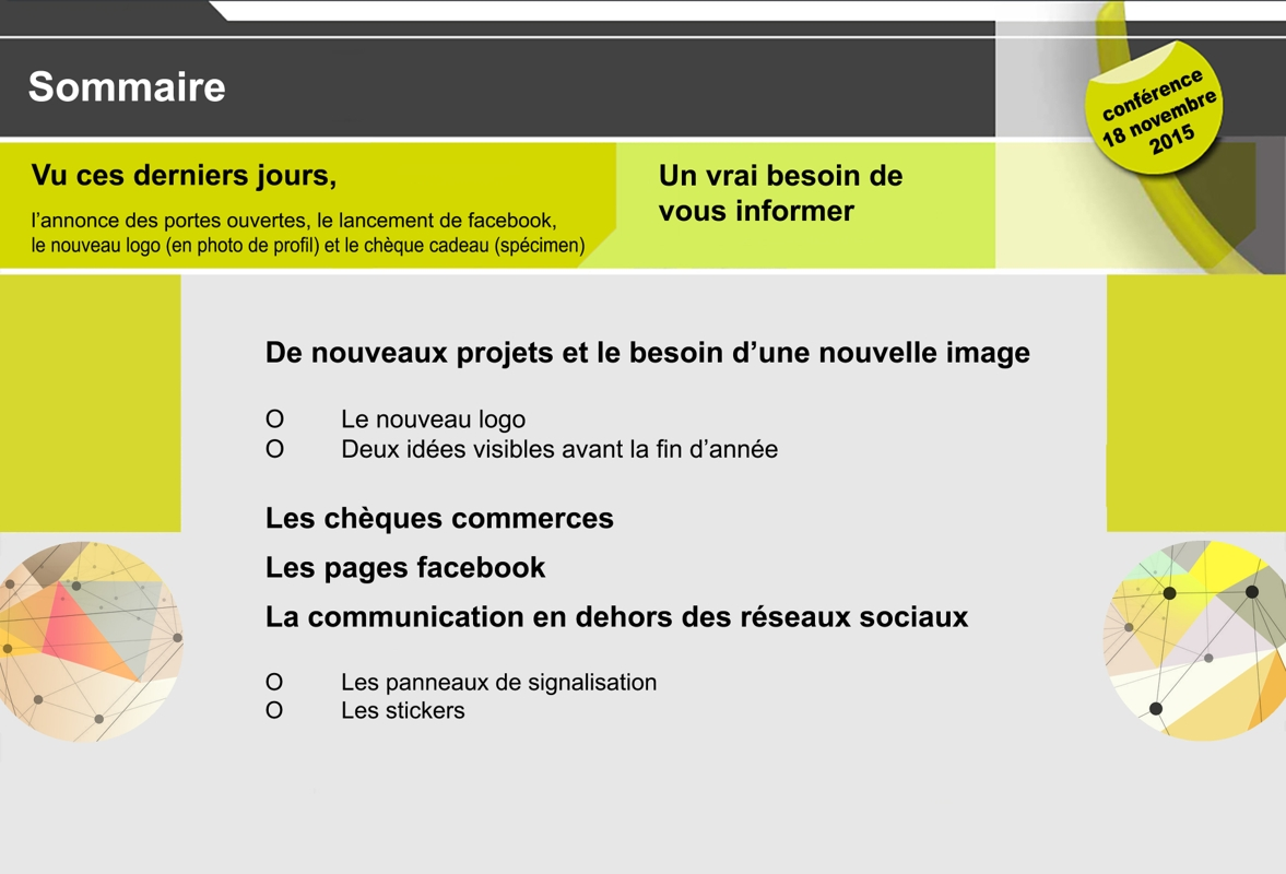 base de travail conférence 2015   sommaire 010
