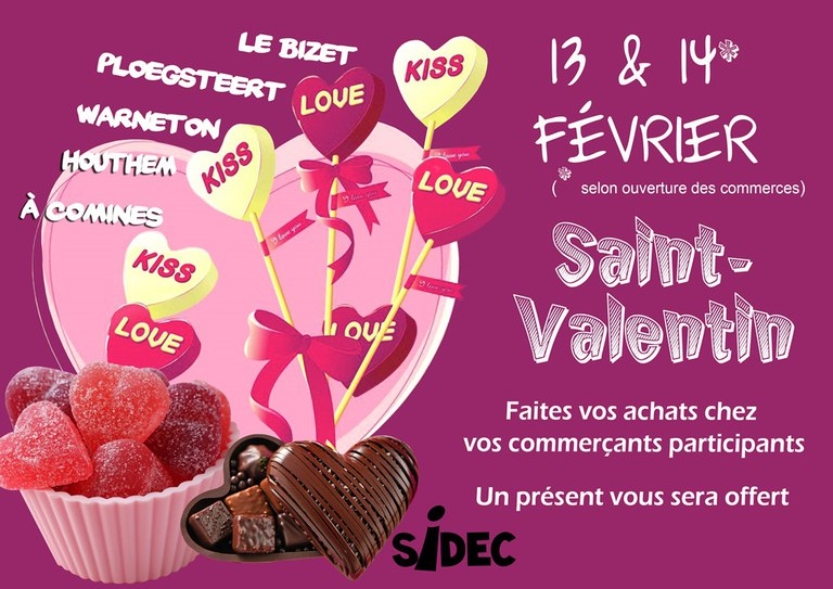 base saint valentin 2016